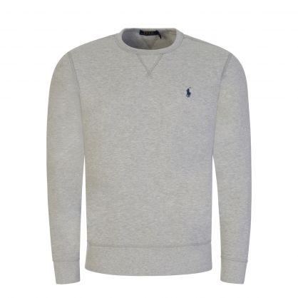 Light Grey Fleece Sweatshirt