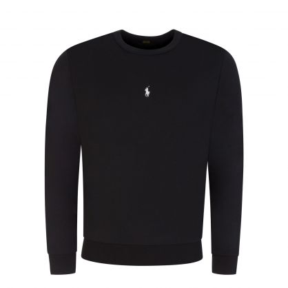 Black Popover Sweatshirt