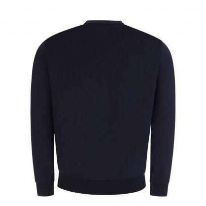 Navy Popover Sweatshirt