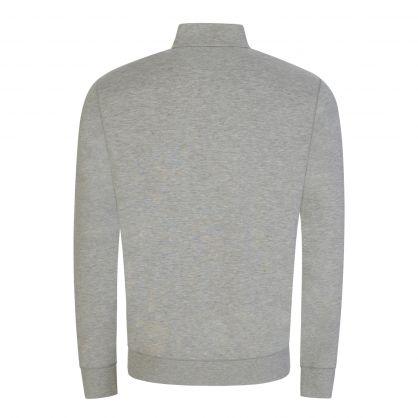 Grey Half-Zip Sweatshirt