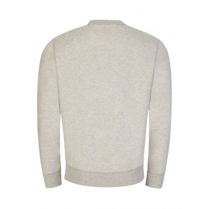Light Grey Double-Knit Sweatshirt