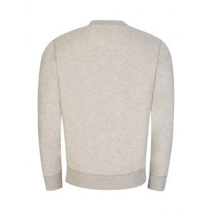 Light Grey Double-Knit Sweatshirt