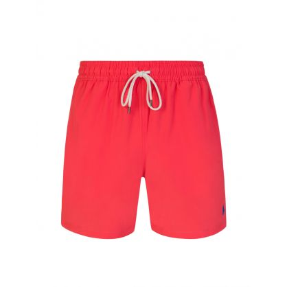 Red Traveller Swim Trunks
