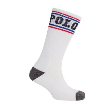 White Cushioned Comfort Classic Sports Socks 3-Pack
