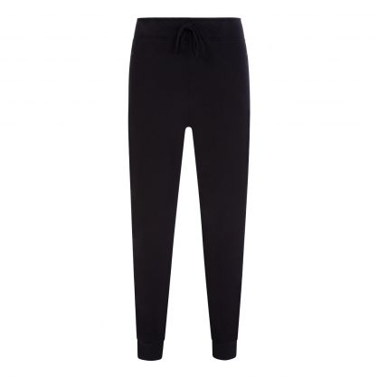 Black Luxury Jersey Sweatpants