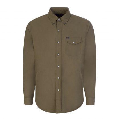 Green Utility Overshirt