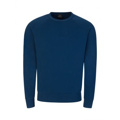 Blue Raglan Sweatshirt