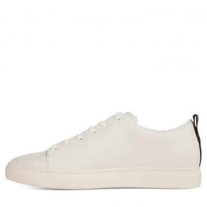 White Leather 'Lee' Trainers