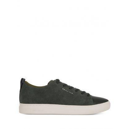 Khaki Suede 'Lee' Trainers