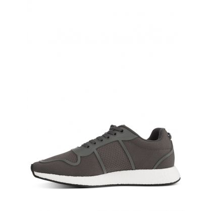 Grey Milo Knitted Trainers
