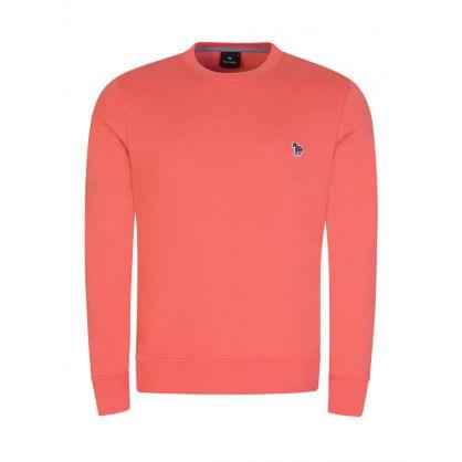 Orange Zebra Logo Sweatshirt