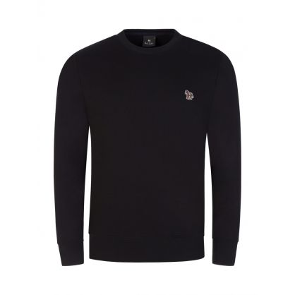 Black Zebra Sweatshirt
