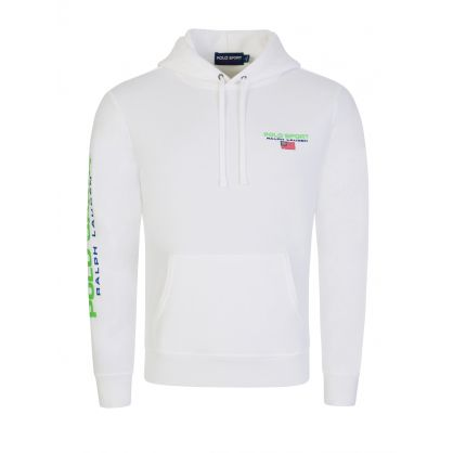 Polo Sport White Neon Hoodie