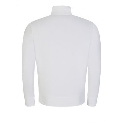 Polo Sport White Half-Zip Sweatshirt