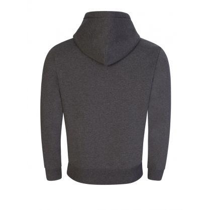 Sport Grey Pullover Logo Hoodie