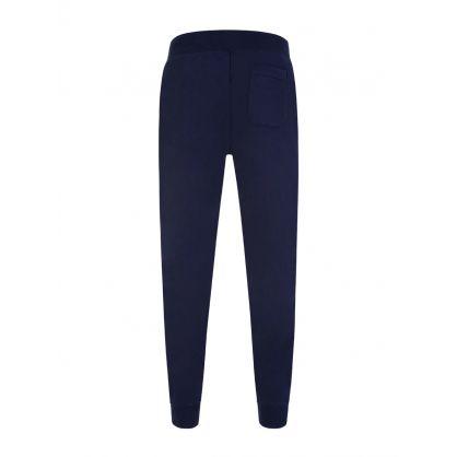 Navy Blue Fleece Sweatpants