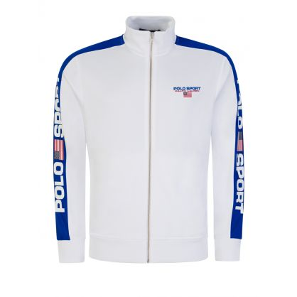 White Track Jacket