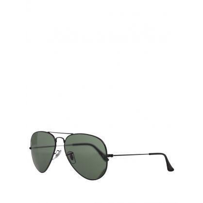 Black Aviator Classic G-15 Sunglasses
