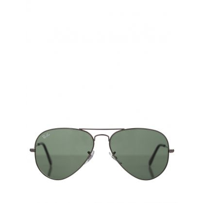 Silver Aviator Classic G-15 Sunglasses