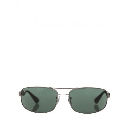 Silver RB3445 Classic Sunglasses