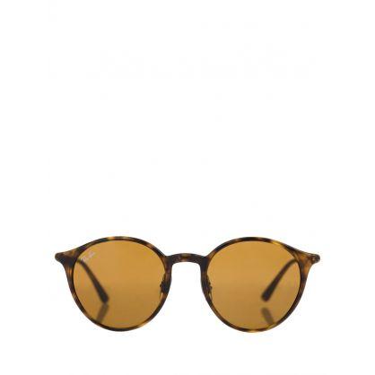 Brown RB4336 Round Sunglasses
