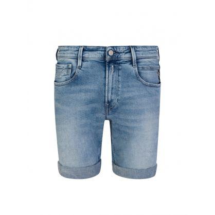 Blue 573 Aged Eco 5-Years Anbass Bermuda Shorts