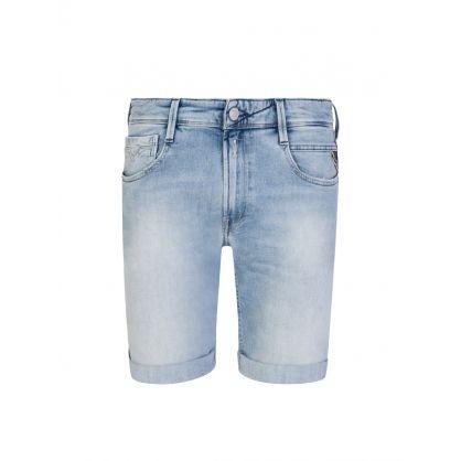 Blue New Anbass Bio 573 Denim Shorts