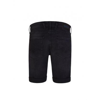 Black Anbass 573 Bio Jean Shorts