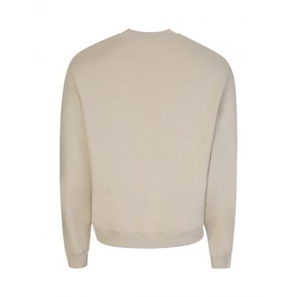 Beige Iron Spirit Sweatshirt