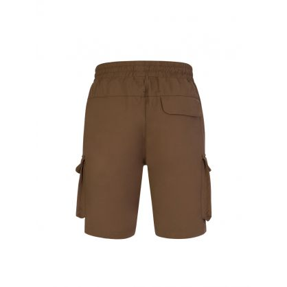 Brown Military Shorts