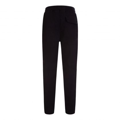 Jet Black Blank Sweatpants