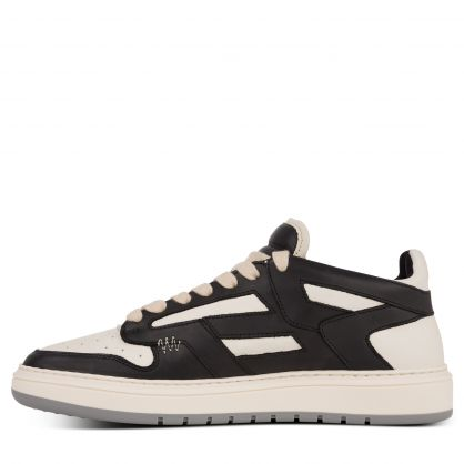 Black/Vintage White Reptor Low Trainers