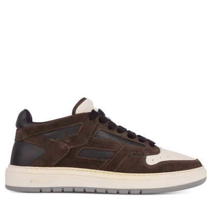 Brown/Black/White Reptor Low Trainers