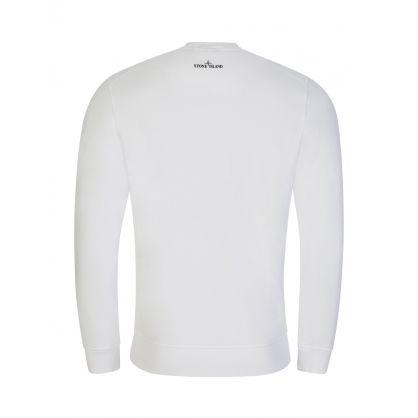 White Large Logo Sweatshirt