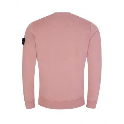 Pink Sleeve Logo Sweatshirt