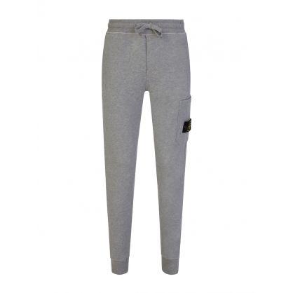 Grey Garment Dyed Sweatpants