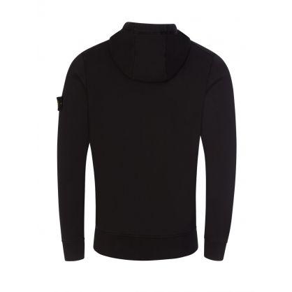 Black Classic Zip-Through Hoodie