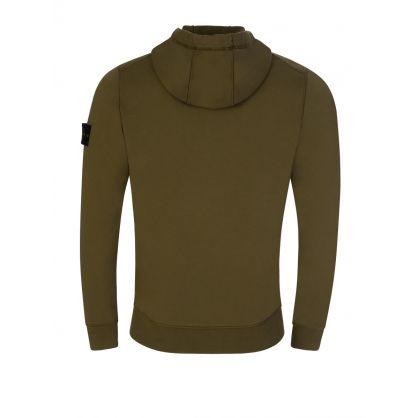 Green Hooded Zip-Through
