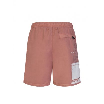 Pink Block Swim Shorts