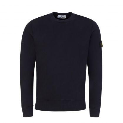 Navy Brushed Fleece Sweatshirt