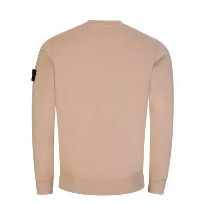 Pink Brushed Cotton Fleece Sweatshirt