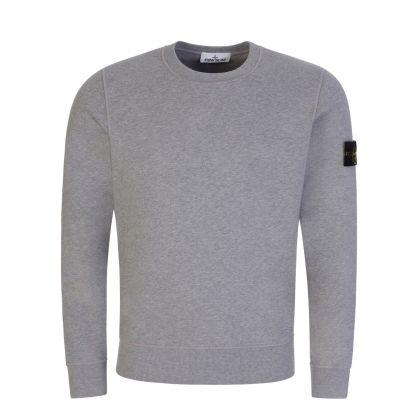 Grey Brushed Fleece Sweatshirt