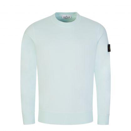 Light Green Brushed Fleece Sweatshirt