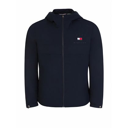 Navy Travel Comfort Hooded Jacket