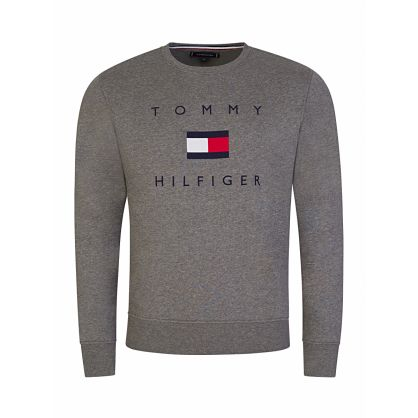 Grey Classic Flag Sweatshirt