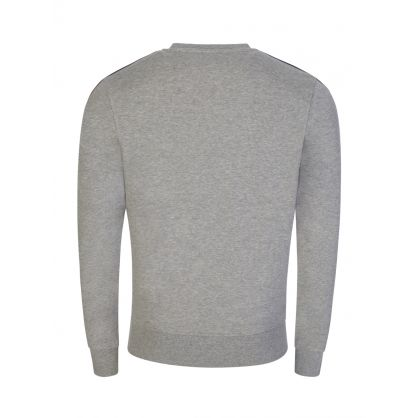 Grey Tape Logo Sweatshirt