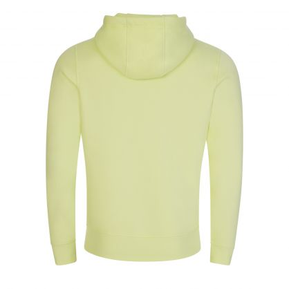 Lime Green Logo Popover Hoodie