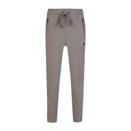 Grey Tapered Horseshoe Sweatpants