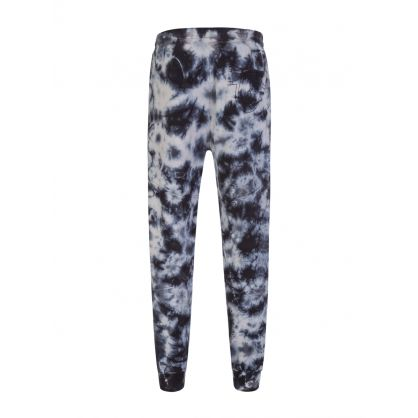 Black Tie Dye Jogging Sweatpants