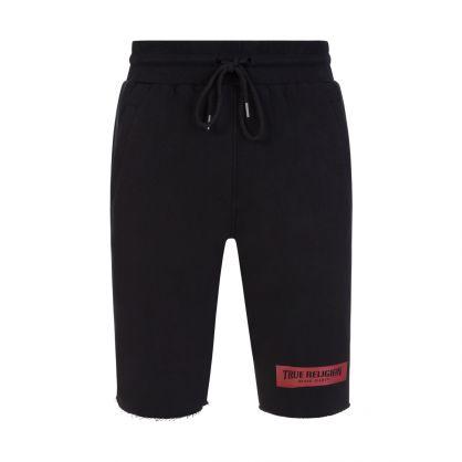 Black Welt Pocket Shorts